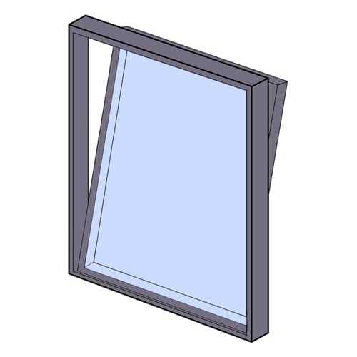 Image showing a Tilt and Turn window window