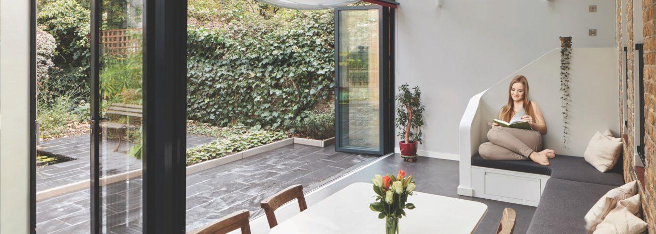 Aluminium Bifold Doors image
