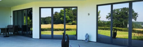 Photo showing IDSystems door installations