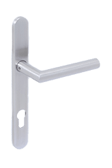 Image of stainless steel lever handle