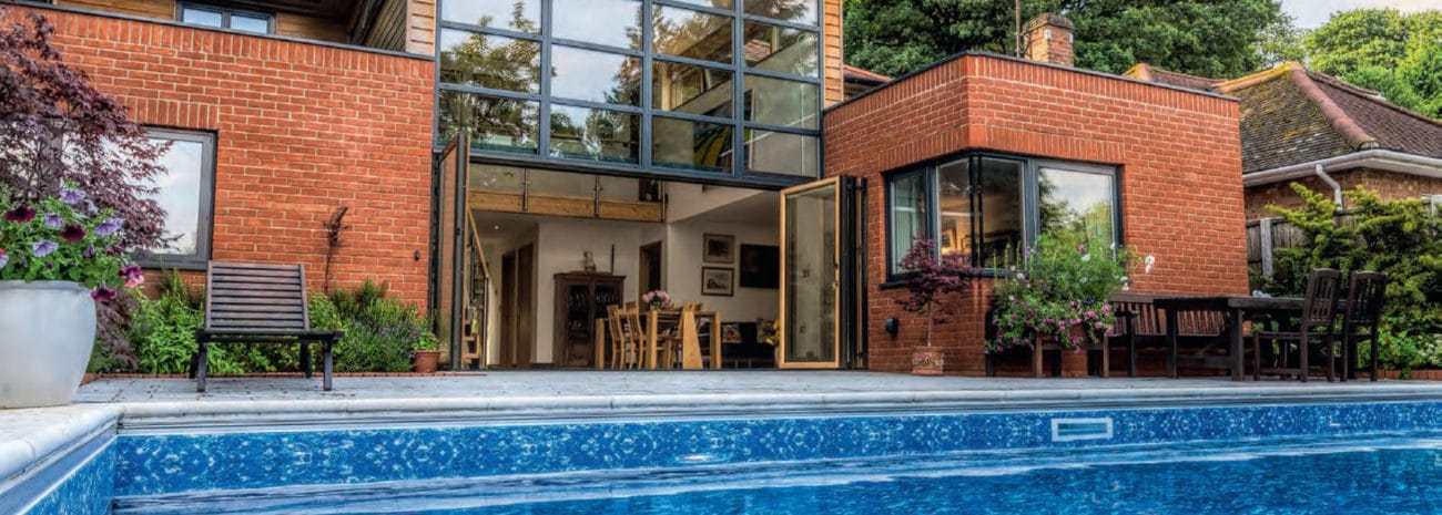 SUNFLEX SF75c Composite bifold doors from IDSystems