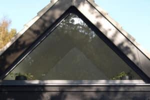 Gable end glazing