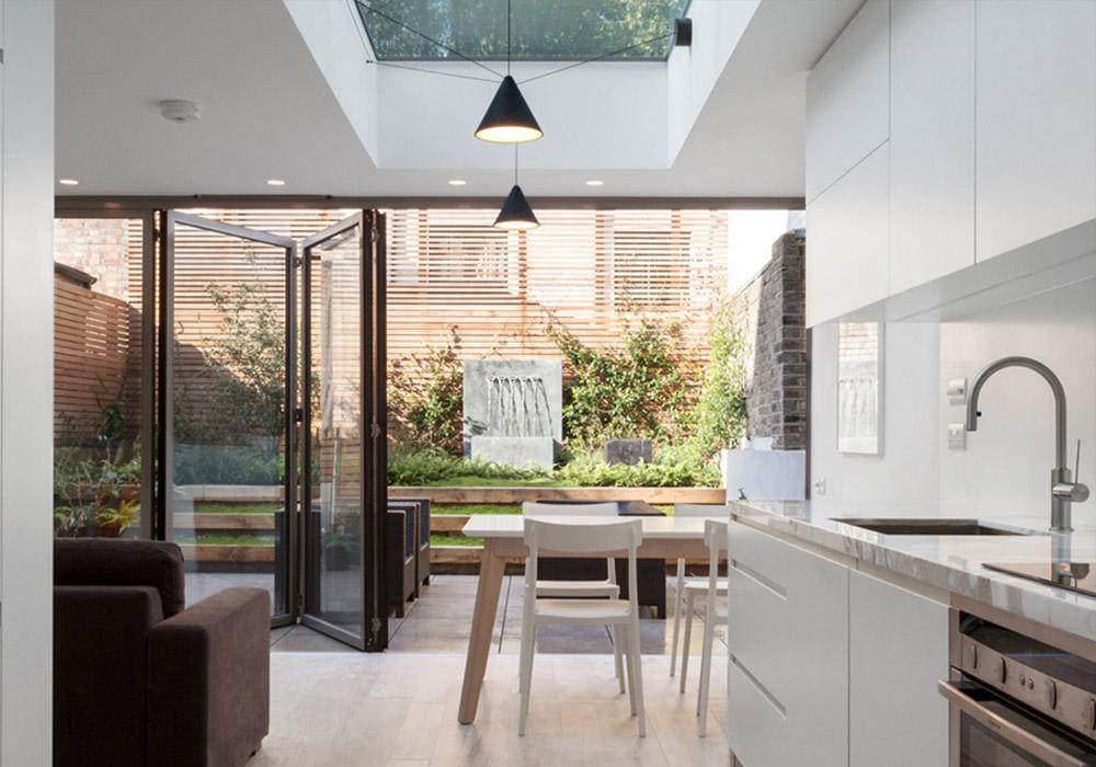 SUNFLEX aluminium bifold doors