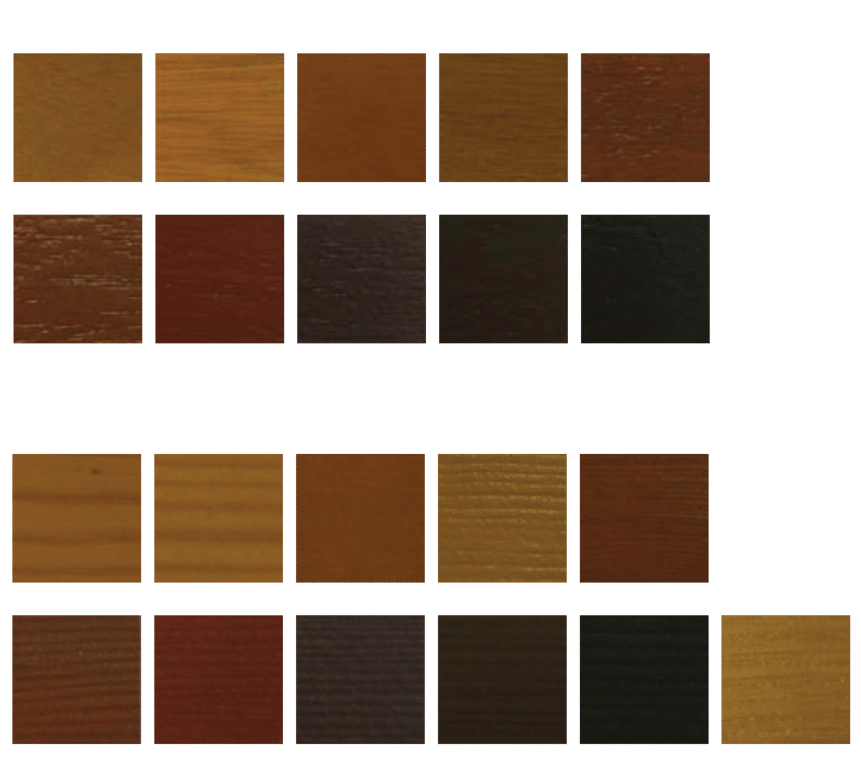 Timber stains and finishes