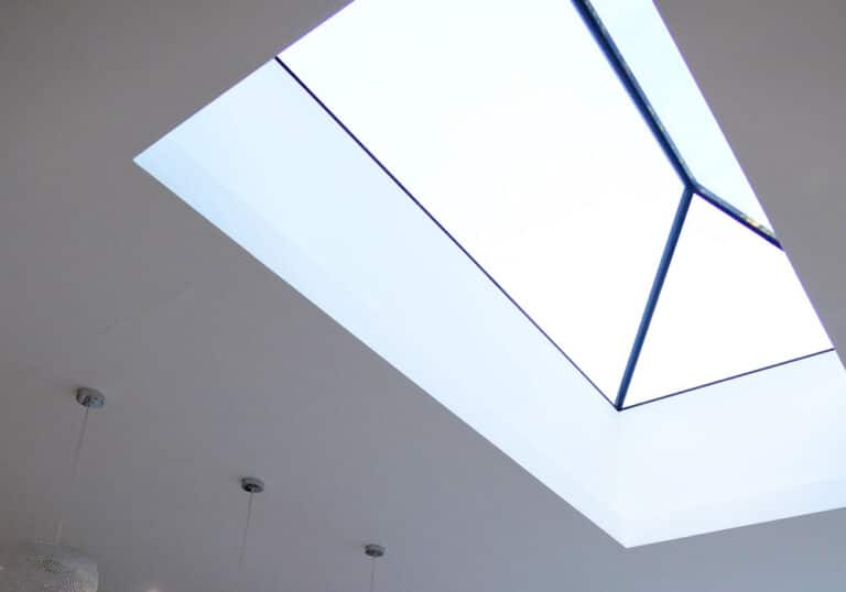 Frameless glass lanterns