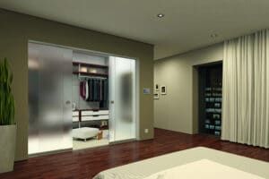 SUNFLEX SF20 frameless sliding doors