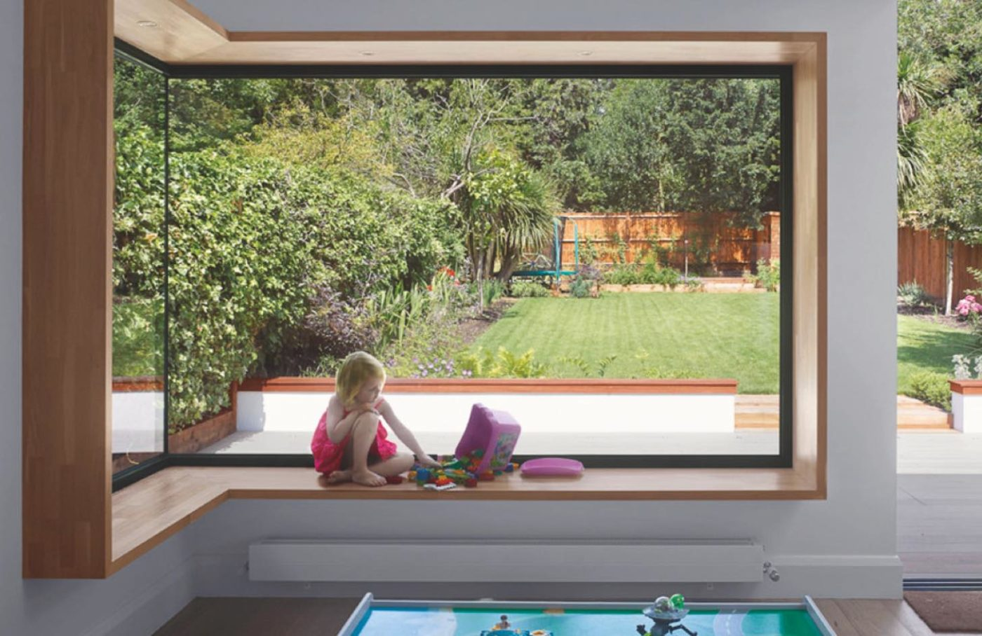 Glass to glass corner windows from IDSystems