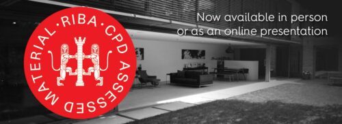 RIBA approved CPD now available in person or online