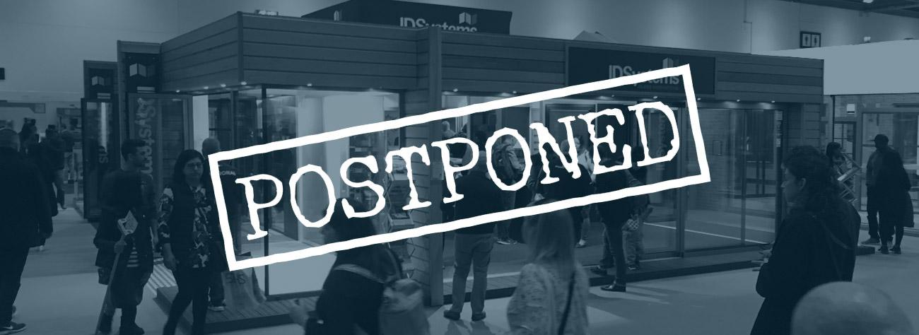 Exhibitions postponed
