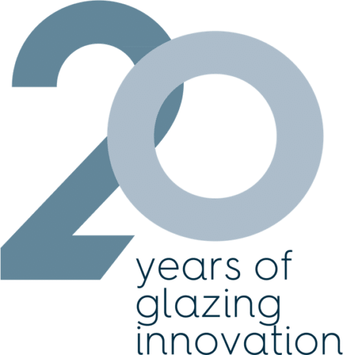 20 Years of glazing innovation logo