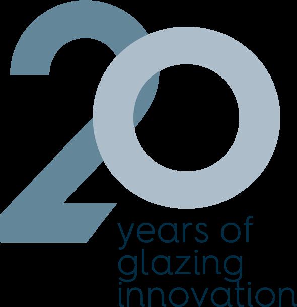 20 Years of glazing innovation logo