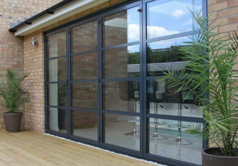 Crittall Style Bifold Doors