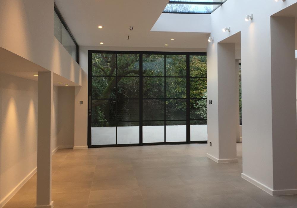 Critall Style Aluminium Sliding Door