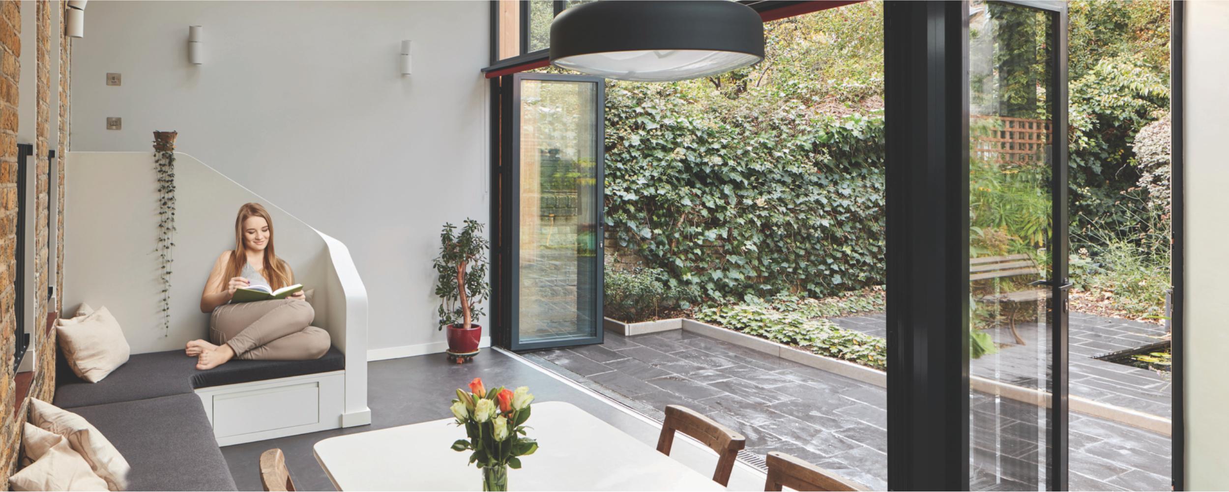 SUNFLEX aluminium bifold door