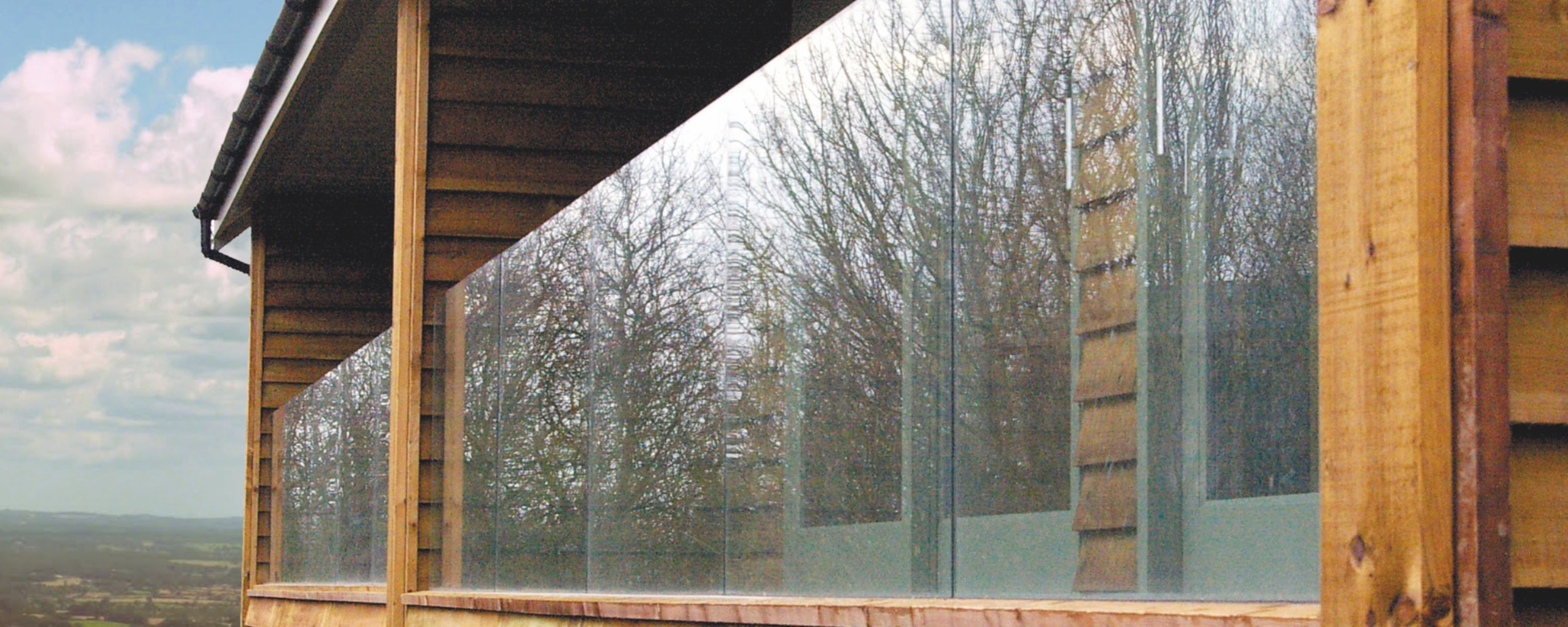 Contemporary balustrades by IDSystems