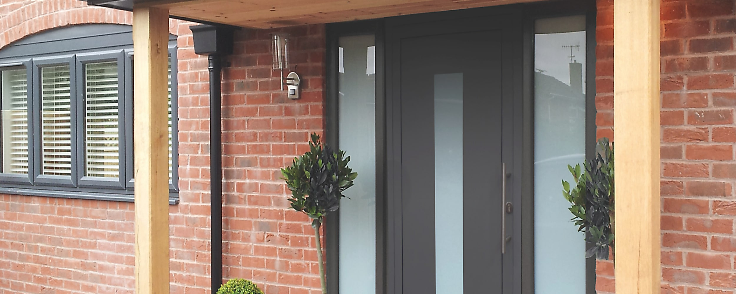 IDSystems aluminium front door