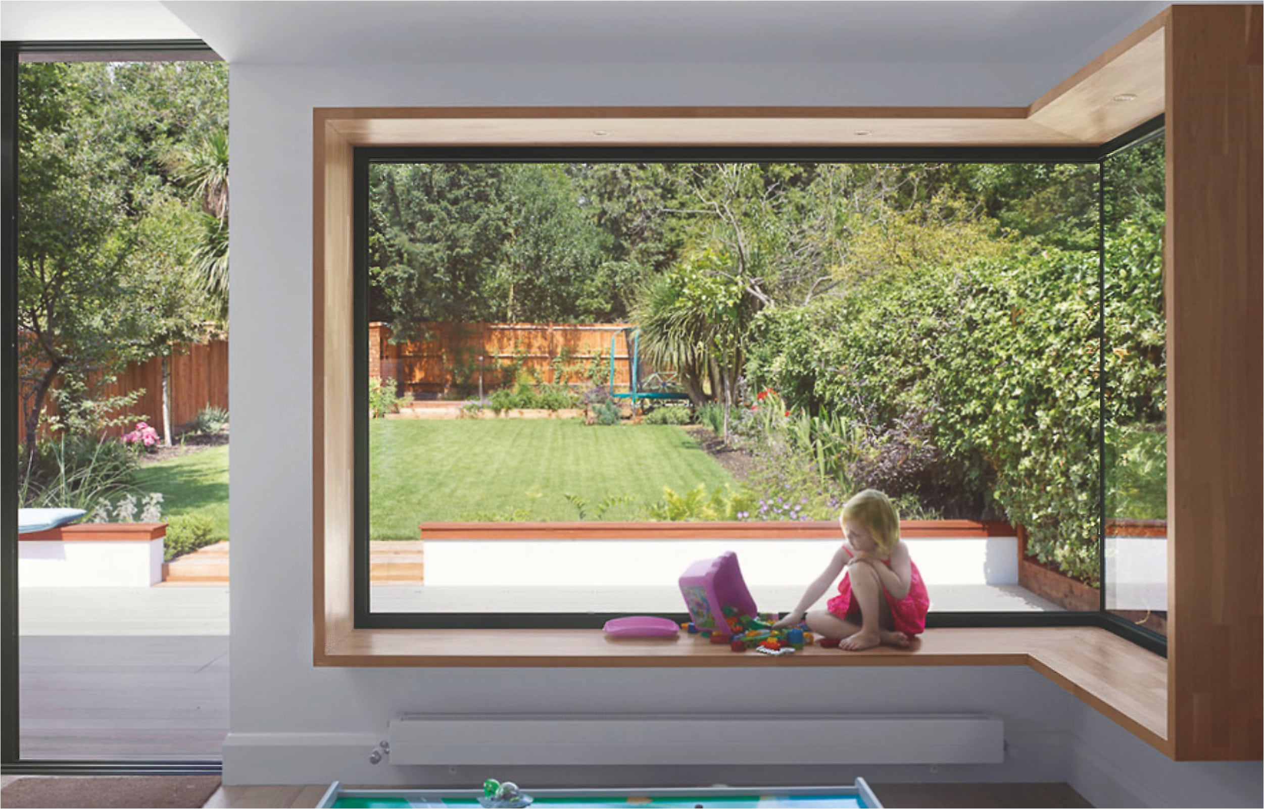 Glass to glass corner windows from IDSystems