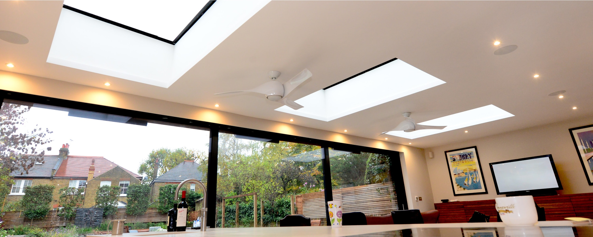 Stunning roof light installation by IDSystems