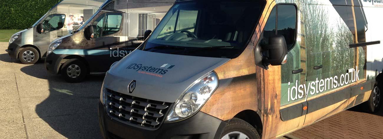 IDSystems installation vans
