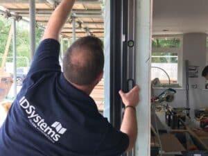 Installing IDSystems sliding doors