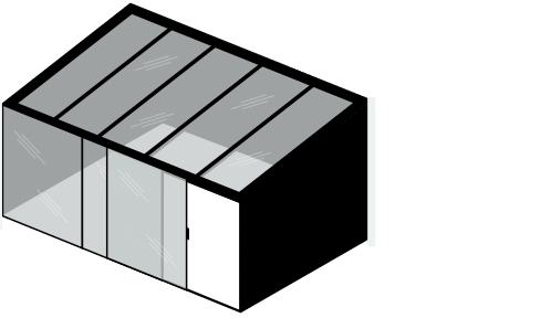 IDSystems structural glass roofs illustration