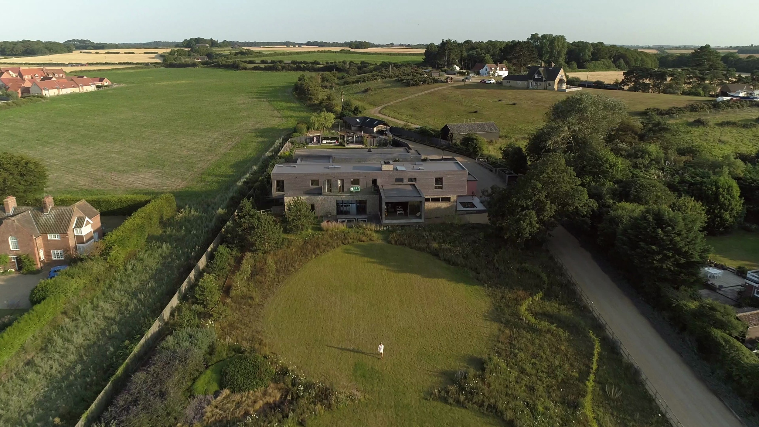 Bliss Blakeney is set in large grounds on the edge of the village