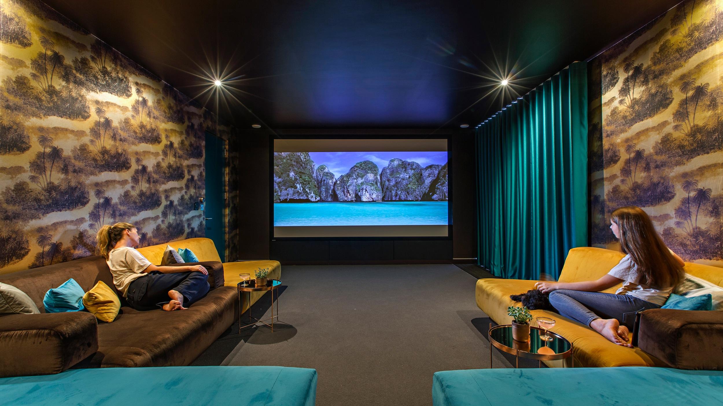 The Cinema Room at Bliss Blakeney