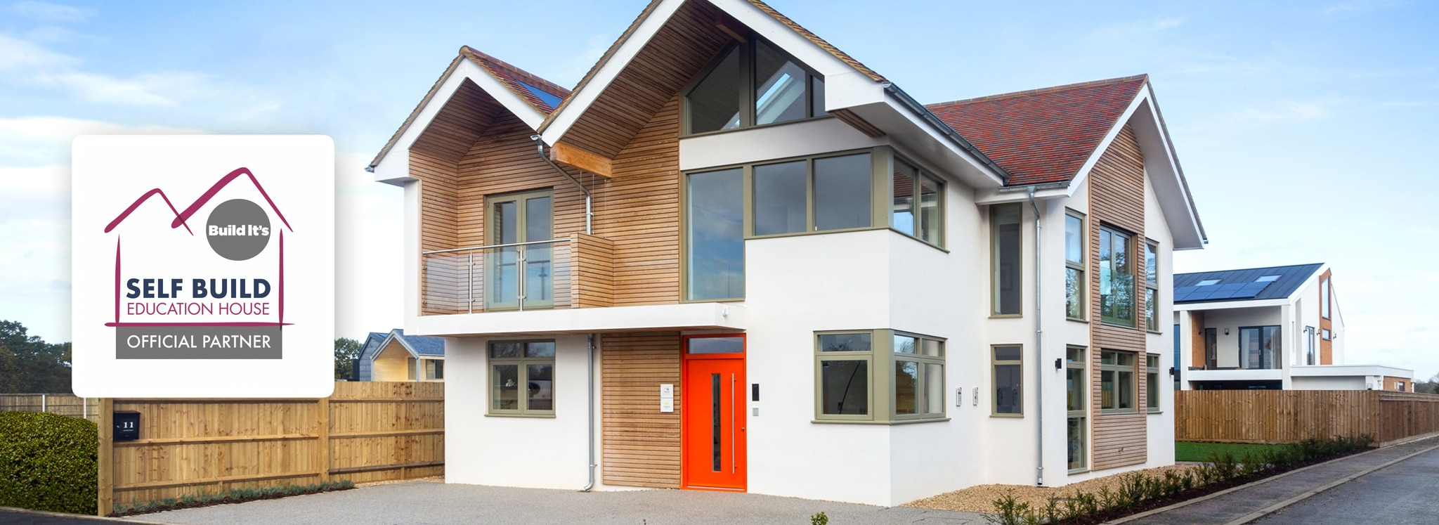 Build it Selfbuild Education House at Graven Hill in Bicester