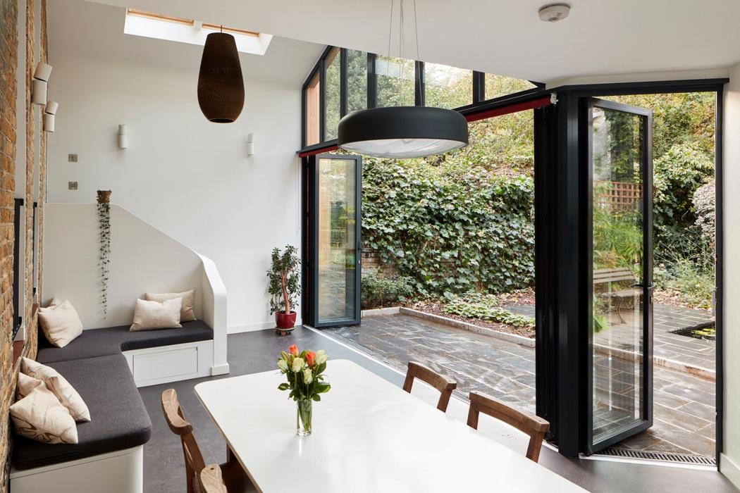 Are bifold doors a good idea? 6-panel bifold doors completely open up the rear of the house