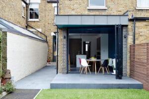 Are bifold doors a good idea? 3-panel bifold doors set at an angle