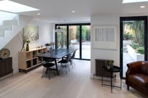 Are bifold doors a good idea? 3-panel bifold doors bring light into room
