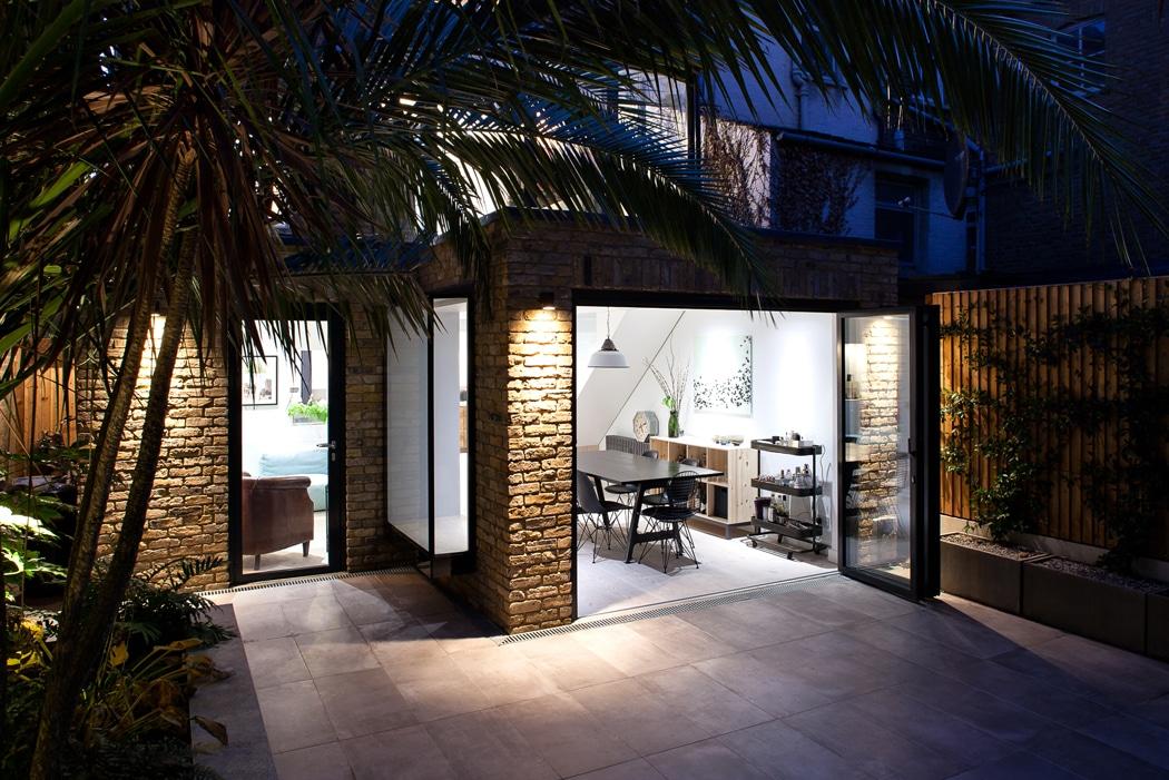 Are bifold doors a good idea? 3-panel bifold doors open up on to patio